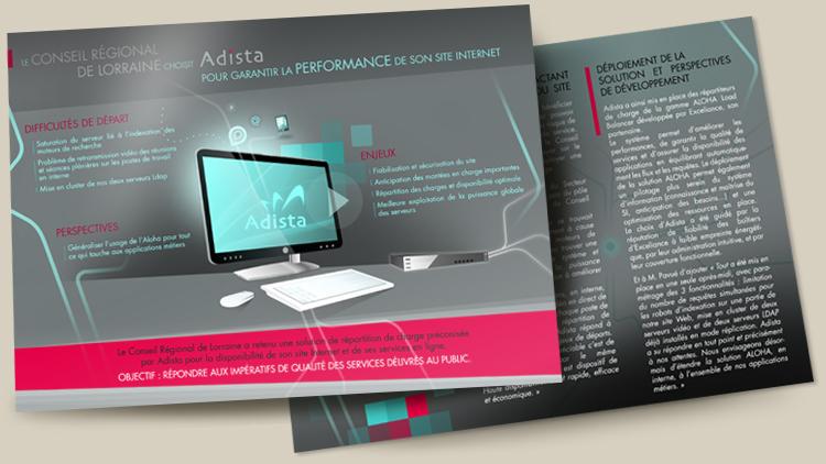 Realisation brochure publicitaire