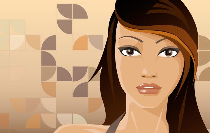Illustration glamour pop