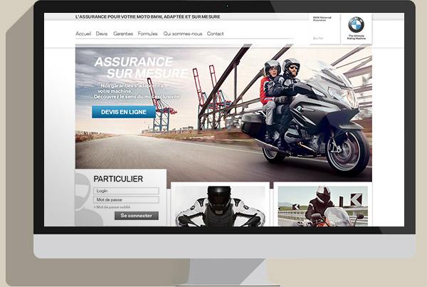 bmw motorrad assurance webgraphik. Black Bedroom Furniture Sets. Home Design Ideas