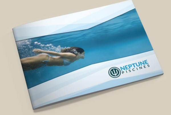 Réalisation d'une brochure commerciale