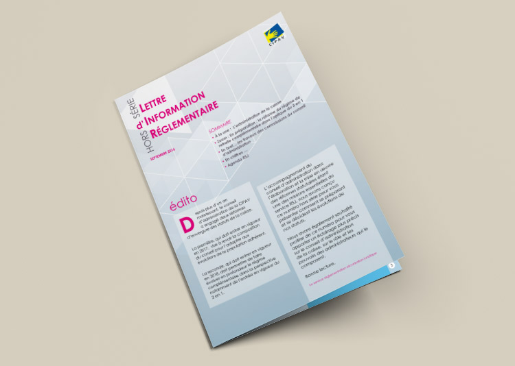 Edition lettre d'information juridique